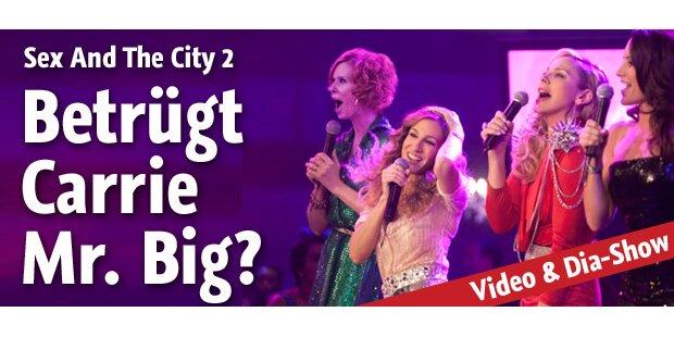 SATC 2 - Verlässt Carrie Mr. Big für Ex?