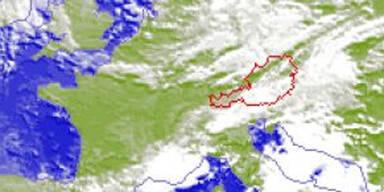 Sintflut-Regen in Wien