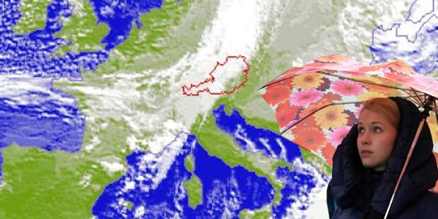 Atlantik-Orkan trifft Österreich