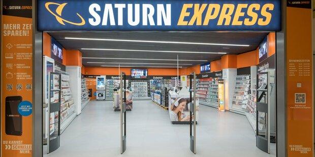 Saturn hat jetzt kassafreien Store