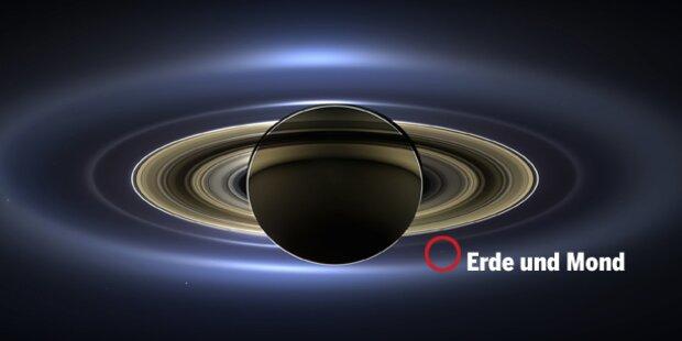 So sieht der Saturn wirklich aus