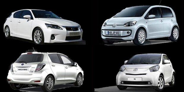 Die saubersten Autos des Jahres 2012