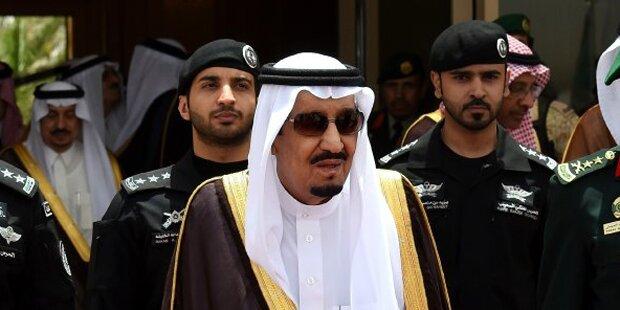 Saudis: Heuer schon 100 Hinrichtungen