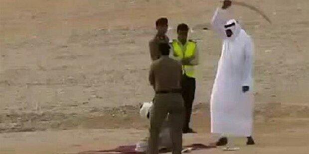 Todesstrafe Saudi Arabien Kreuzigung