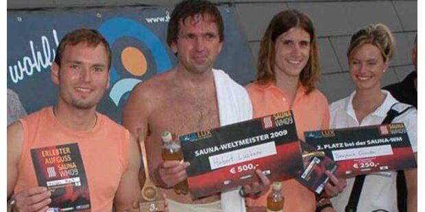 Steirer ist neuer Sauna-Weltmeister