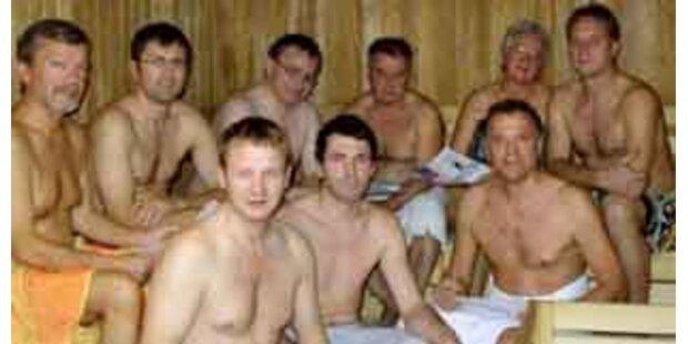 Oö-Gemeinderatssitzung in der Sauna