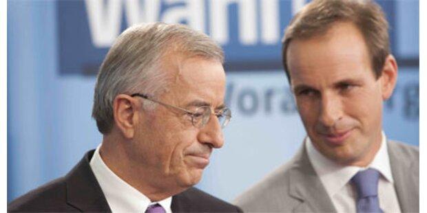 Sausgruber wird ohne FPÖ regieren