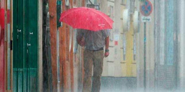 Sauwetter bleibt bis über Pfingstferien