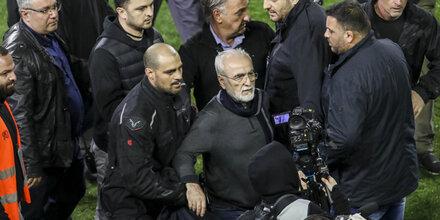 Das sagt PAOK-Boss nach Skandal-Abbruch