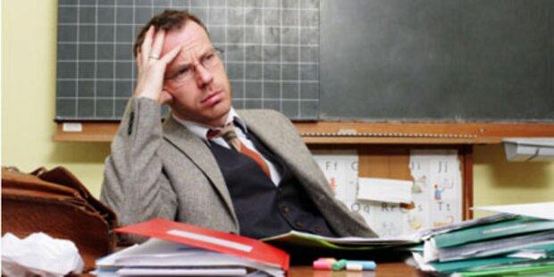 Jeder 5. Lehrer schwänzt die Schule