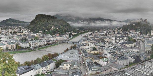 Regen-Walze hängt über Österreich fest