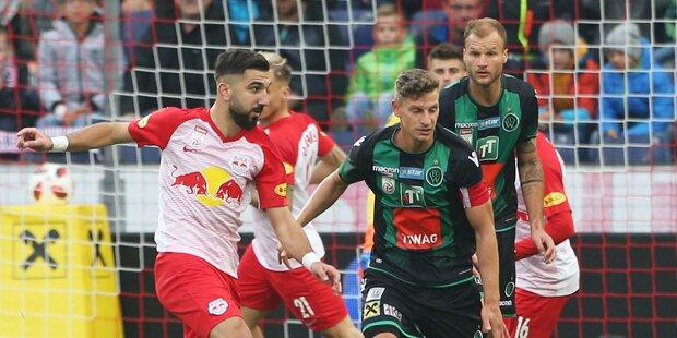 Salzburgs perfekte Serie endet gegen Wacker
