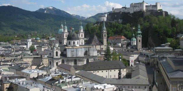Stadt Salzburg erzielt Budget-Überschuss
