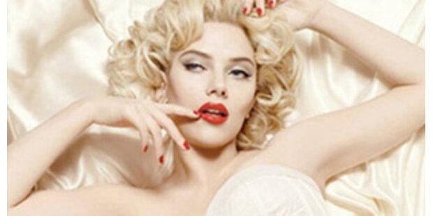 Scarlett Johansson posiert unschuldig für D&G
