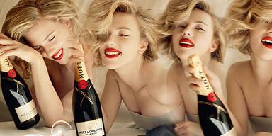 Moët & Chandon Champagner Scarlett Johansson