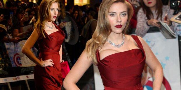 Johansson will Karriere nicht für Baby aufgeben