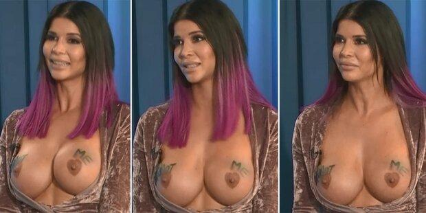 Micaela Schäfer äußert sich nackt zu #metoo