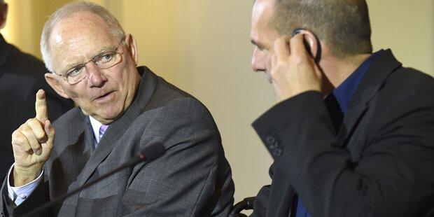 Schäuble fassungslos über Griechen