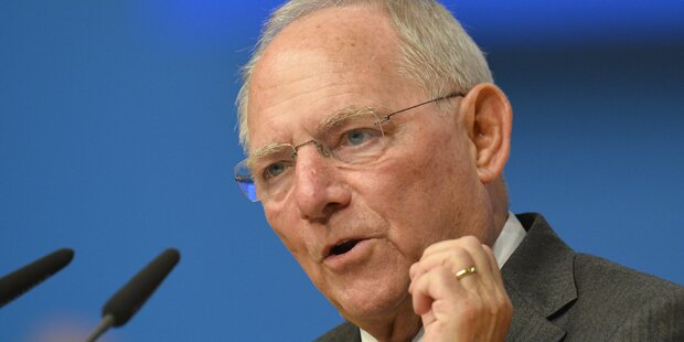 Schäuble: Europa ist kein hoffnungsloser Fall