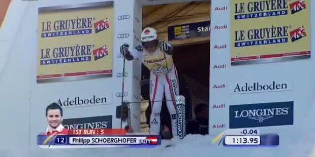 Riesentorlauf Adelboden, 2. DG, Philipp Schörghofer