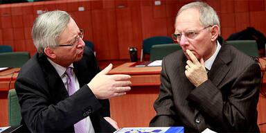 Wolfgang Schäuble, Jean Claude Juncker