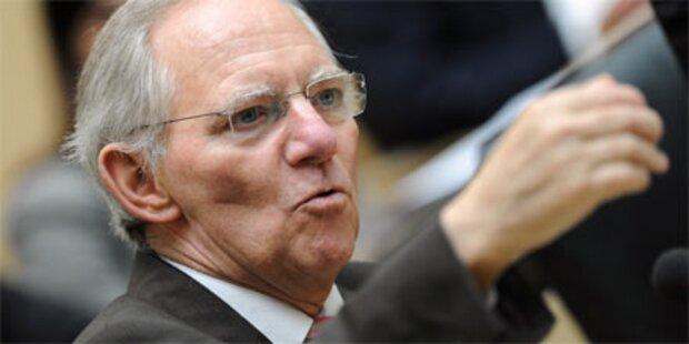 Schäuble schon wieder im Krankenhaus