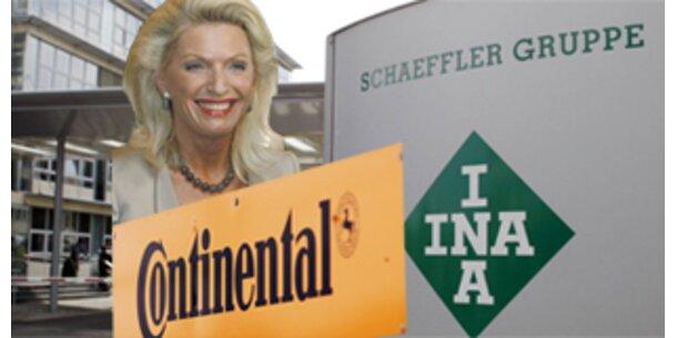 Schaeffler hat bald 36 Prozent an Continental