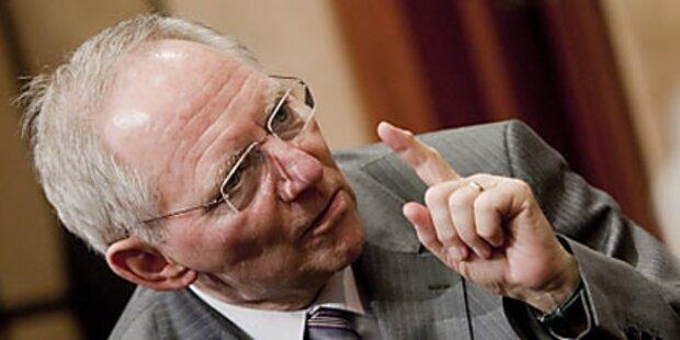 Schuldenschnitt für Schäuble kein Thema