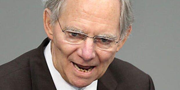 Schäuble plötzlich ins Spital in Brüssel