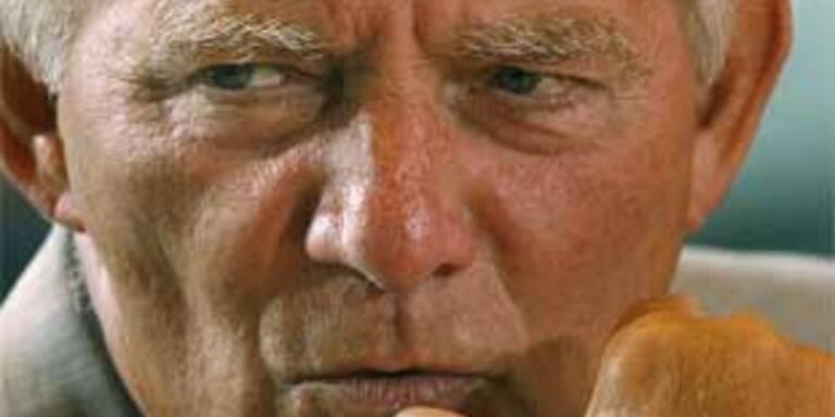 Der deutsche Innenminister Wolfang Schäuble