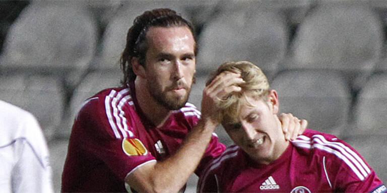 Schalke fertigt Larnaca ab