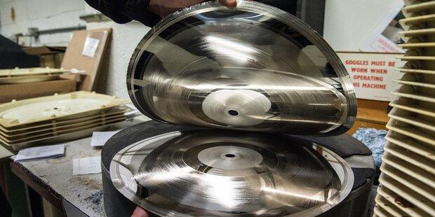 Österreicher bauen Hightech-Schallplatte