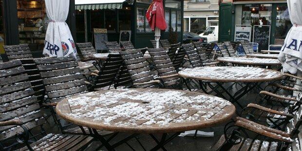 Wiener Schanigärten auch im Winter offen?