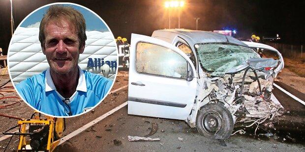 Bestatter stirbt bei Horror-Crash