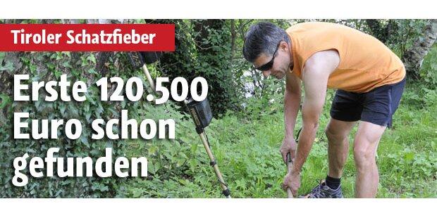 Erste 120.500 Euro gefunden