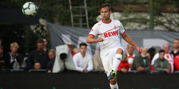1. FC Köln siegte bei Schaub-Debüt