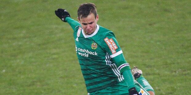 Jetzt fix: Schaub verlässt Rapid Wien