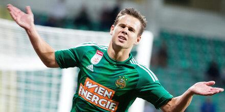 Mr. Europacup schießt Rapid in Euro League