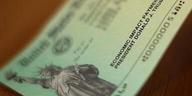 US-Regierung schickte 1,1 Millionen Toten Corona-Hilfsscheck