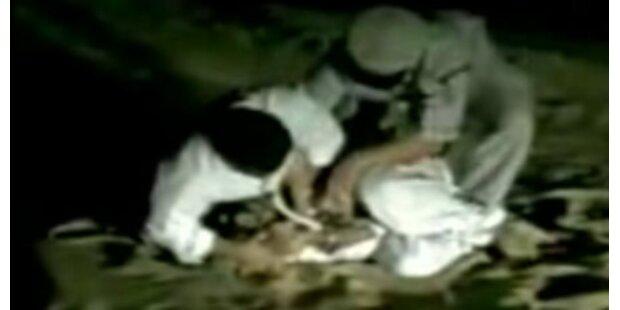 Sohn des Scheichs beim Foltern gefilmt