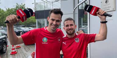 Philipp Scheichl und Philip Sauer