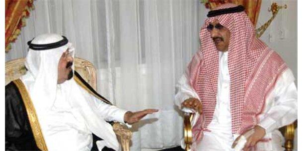 So reich sind die saudischen Scheichs