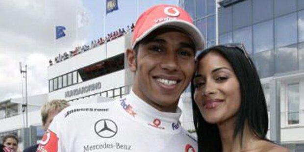 Nicole Scherzinger vermisst Lewis Hamilton