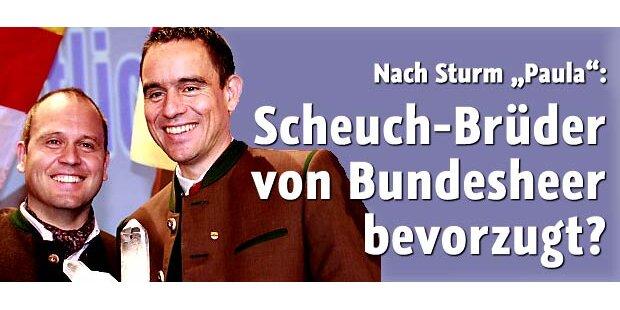Wurden Scheuch-Brüder vom BH bevorzugt?