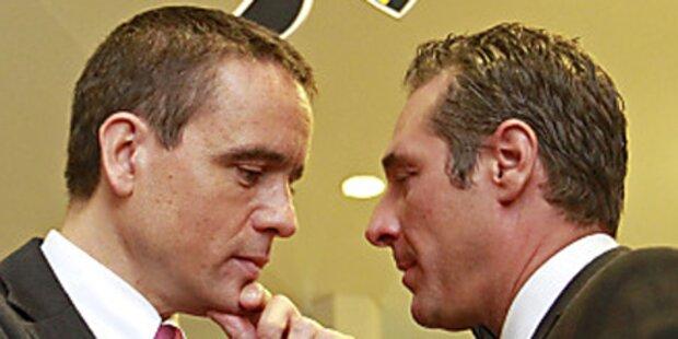 H.C. Strache nimmt FPK zur Brust