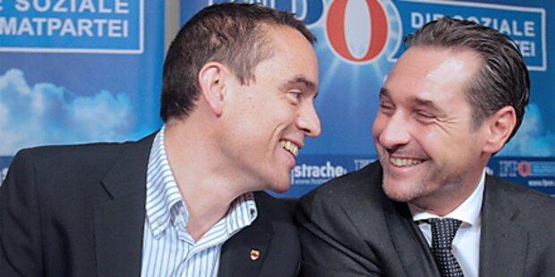Fusionierung von FPÖ und FPK perfekt