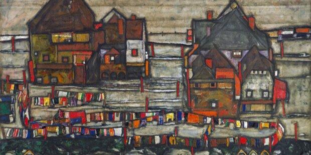 Schiele-Gemälde erzielt Auktions-Rekord