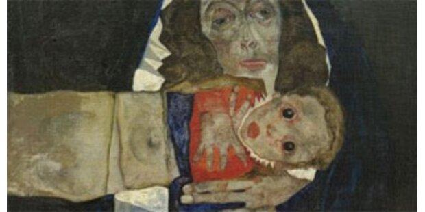 9,5 Mio für verschollen geglaubtes Schiele Gemälde