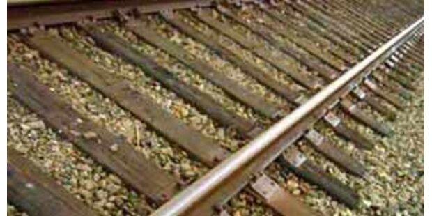 Diebesbande stahl 636 Meter Schienen