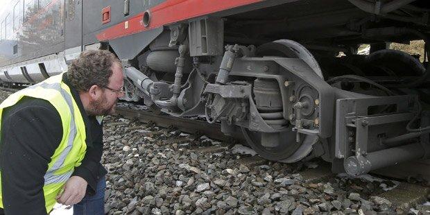 ÖBB-Railjet in Kärnten entgleist